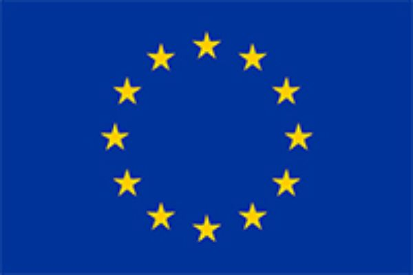 The flag of the European Union