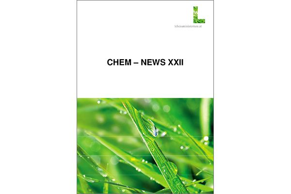 Titelblatt Chem News XXII